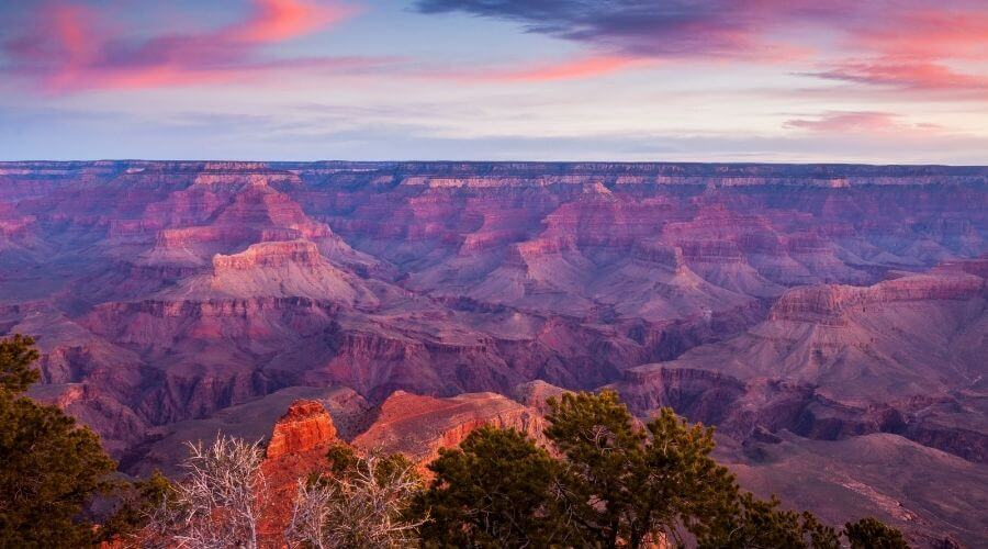 Overview of the Grand Canyon